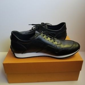 Tod's Men's Sportivo Leather Sneakers 12 Black
